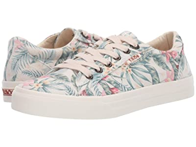 Taos Footwear Plim Soul (Natural Tropical Vintage Print) Women
