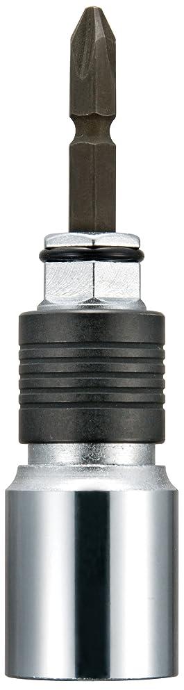 修復予測控えめなTJMデザイン 全ネジ用ビット交換式ソケット BSZN30 適用ねじ径:3分(W3/8) 1個