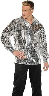 Men's Stylin' 70s Disco Ball Costume Shirt
