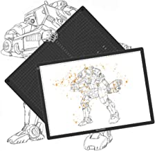 GAOMON GA3 A3 Size LED Tracing Light Board and Cutting Mat - 2 in 1 Design for Diamond Painting, Art Craft, Drawing, Sketching, Tattoo Transferring- (Double Use)