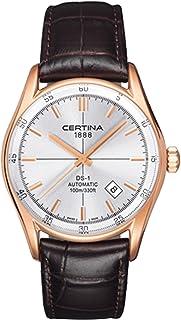 Certina - C006.407.36.031.00 - Reloj de automático para Hombre, con Correa de Cuero, Color Negro