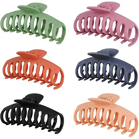 Fashion Lady Women Plastic Hair Claw Clamp Clips Shower Hairpins WE