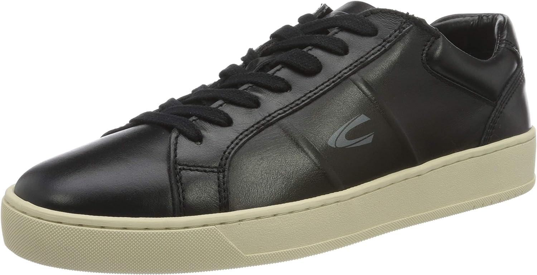 camel active Men's Cloud Black Sneaker UK 無料サンプルOK 最新号掲載アイテム 11