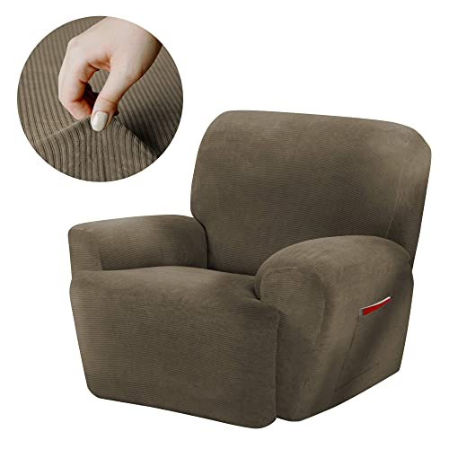 Maytex Collin Stretch 4 Piece Recliner Chair Furniture Cover Slipcover 03ee07a99a