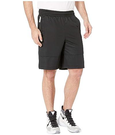 Nike Dry Shorts Asymmetrical (Black/Black/White) Men