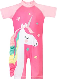 Harry Bear Filles Maillot de Bain Licorne