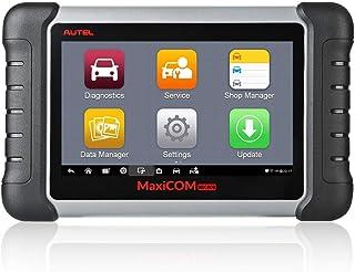 Autel maxicom MK808 OBD2 Diagnostic Scan Tool mit allen System & Service Funktionen inklusive Öl Reset, EPB, BMS, SAS, DPF, TPM und Immo (MD802 + MaxiCheck Pro)