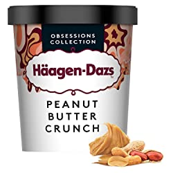 Häagen-Dazs Peanut Butter Crunch Ice Cream, 460 ml (Frozen)