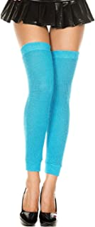 MUSIC LEGS Women's Footless Acrylic Thigh Hi Leg Warmer