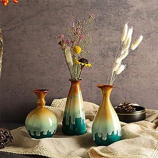 bedroom decor home decor Centerpiece Modern Decorative Vase for Housewarming Gift Black Glass Vase livingroom