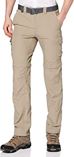 Columbia Silver Ridge II Pantalones de Senderismo Convertibles, Hombre