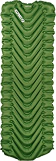 """KLYMIT STATIC V LONG (78"""") Sleeping Pad, Lightweight, Outdoor Sleep Comfort for Backpacking and Hiking, Inflatable Camping Mattress for Tall Campers"""
