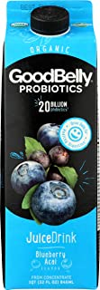 Good Belly, Blueberry Acai Probiotic Juice, 32 oz