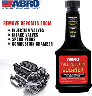 Abro IC-509 Petrol Fuel Treatment and Injector Cleaner for Car SUV & Auto (354 ml)
