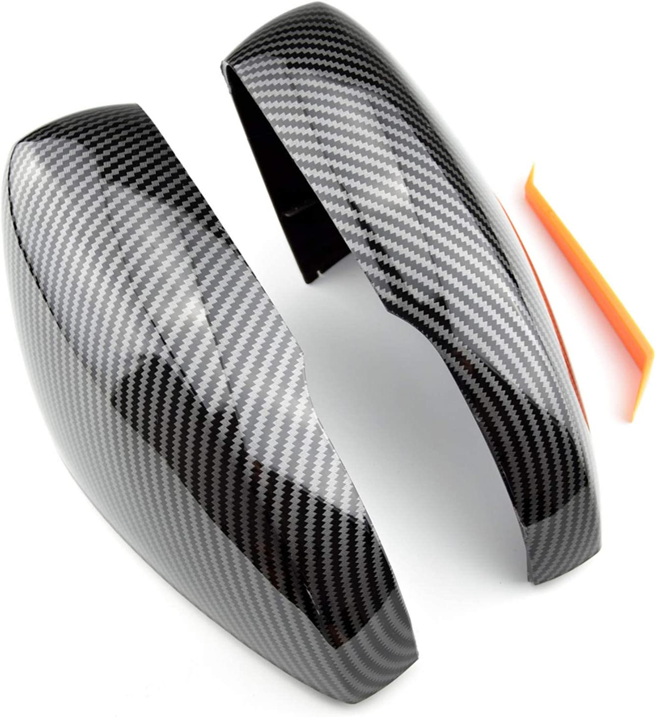 Our shop OFFers Bombing new work the best service ASHDelk Side Door Wing Mirror caps Cover Carbon Fiber Replace