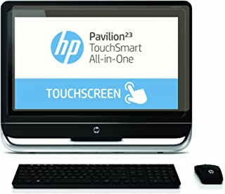 PcProfessional Screen Protector (Set of 2) for HP Pavilion Touchsmart 23 All-in-One Touchscreen Desktop Anti Glare Anti Scratch Filter Radiation Microfiber Cloth