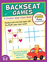 Backseat Games Christian Wipe-Clean Workbook (Let's Do It Again! Workbooks)