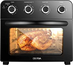 OSTBA Air Fryer Oven 1700W Multifunctional Convection Toaster Oven Combo Convection Toaster, Bake and Rotisserie, 6 Access...