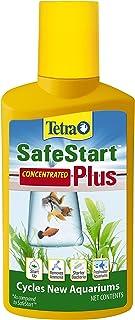 Tetra SafeStart Plus, For Newly Set-Up Fish aquariums, 100 ml, 3.38-Ounce