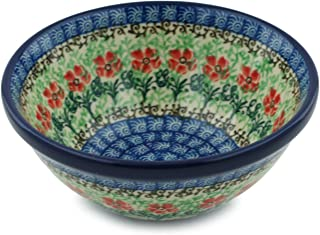 Polish Pottery Cereal/Soup Bowl 5-inch (Maraschino)