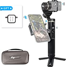 FeiyuTech Feiyu G6 3-Axis Splash-proof Handheld Gimbal for GoPro Hero 6 5 4 3, Sony RX0, Yi 4K, AEE Action Camera, WIFI & Bluetooth Connect Mode, OLED Indicator, Come with Side Clamp