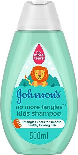 شامبو للشعر المتشابك للاطفال من جونسون- 500 مل