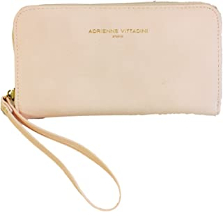 Charging Zip Around Wallet Wristlet - iPhone Android - Blush Smooth