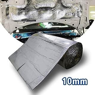 Alfombrilla de aislamiento térmico y de sonido de 10 mm, Lingda, de Motify-GT, controlo de ruido, resistente a la humedad, resistente al agua, 60 x 100 cm, 0,6 m²