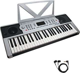 $39 » Sawtooth 54-Key Portable Music Keyboard with Earbuds