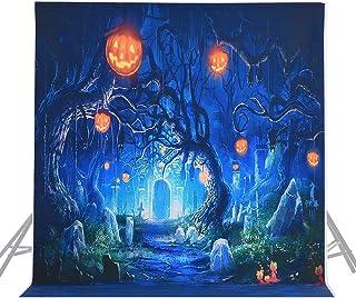 Fondo de fotografía de Halloween BDDFOTO, 1,5 x 2 m telón de Fondo de decoración de Pared de Fiesta de