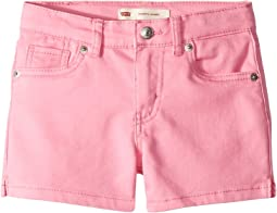 710™ Super Skinny Fit Soft Brushed Shorty Shorts (Little Kids)