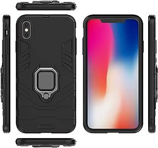 Funda Tablet y Smartphone Bolso Bandolera con Cierre Magnetico y Cremalleras Compatible con Samsung Galaxy A7 - Negra DFV mobile 2018