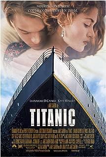 Titanic Movie Poster (Leonardo DiCaprio) - Size 24