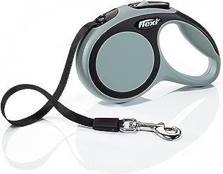 Flexi Comfort Retractable Dog Leash in Grey, 10'