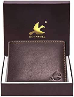 HORNBULL Maddison Men's Brown Genuine Leather Wallet