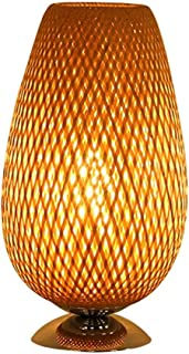 Lampes de Bureau Moderne Minimaliste Style Japonais Bambou Bois Lampe de Table Chambre Lampe de Chevet hôtel étude créativ...