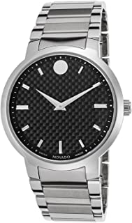 Men's 0606838 Analog Display Swiss Quartz Silver Watch