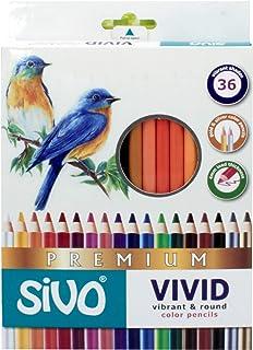 Lápis de Cor, CIS, 52.5900, Multicor, pacote de 36
