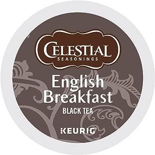 Celestial Seasonings English Breakfast Tea, Keurig Single-Serve K-Cup Pods, 12 Count