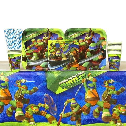 Teenage Mutant Ninja Turtles Party Supplies Amazon Com