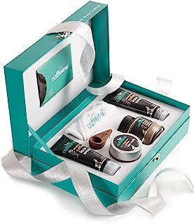 mCaffeine Coffee Mood Skin Care Gift Kit | Tan Removal, Deep Cleanser | Body Scrub, Face Wash, Face Scrub, Face Mask | Par...