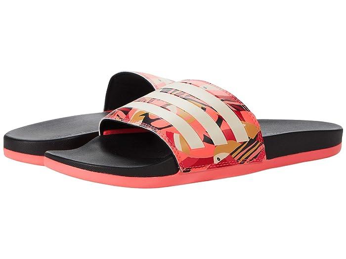 Choose SZ//Color adidas Adilette Comfort Slides Men/'s