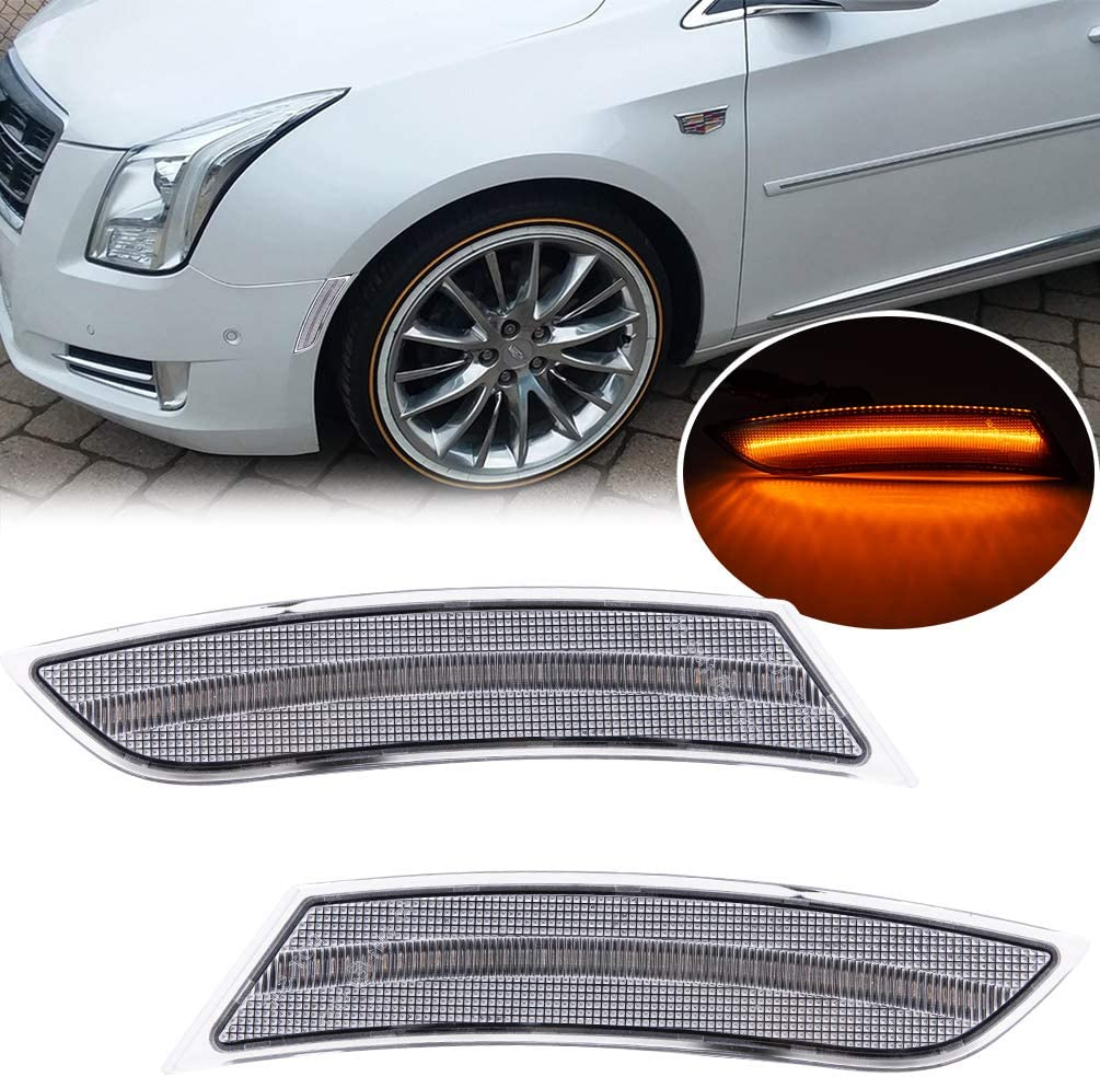 LED Front Side Marker Lamps Replacement 2013 Cadillac for XTS 20 Popular shop is the lowest price Max 52% OFF challenge