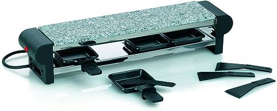Kela 66661 appareil à raclette avec planche en granit, 4 personnes, 'Livigno'
