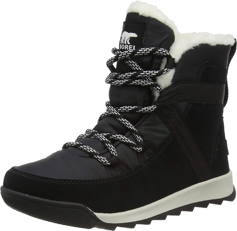 SOREL Women's Whitney Rapid rise II Max 90% OFF Flurry Boot — Winter Suede B Waterproof