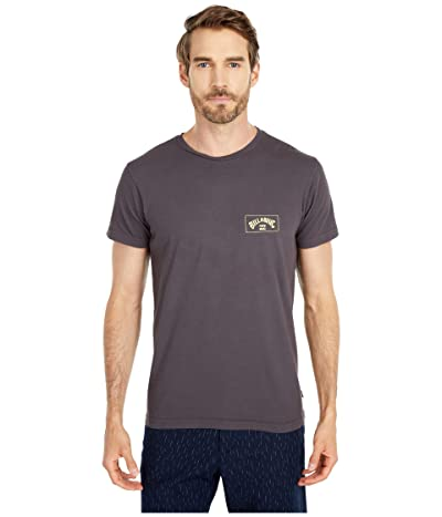 Billabong Arch Short Sleeve T-Shirt (Charcoal) Men