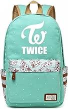 JUSTGOGO KPOP BTS Bangtan Boys VIXX SEVENTEEN GOT7 EXO Backpack Daypack Laptop Bag College Bag Book Bag School Bag (TWICE)