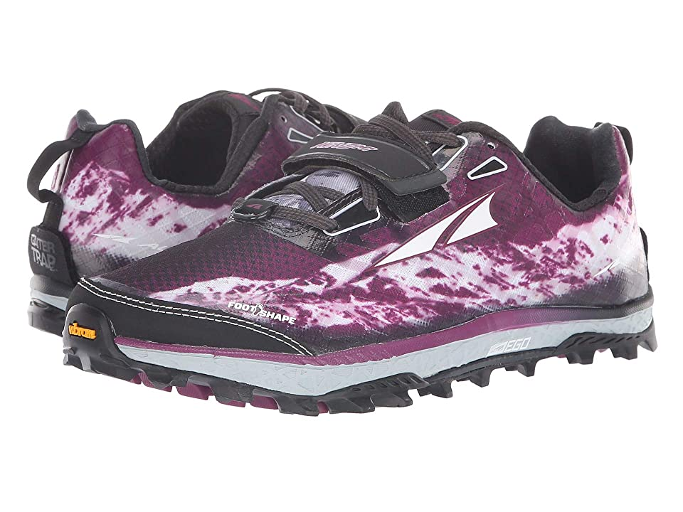 Altra Footwear King MT (Gray/Magenta) Women