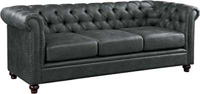 Amazon.com: Hooker Furniture Chester Fabric Upholstered Sofa ...