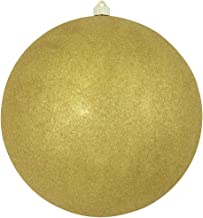 Christmas by Krebs Giant Commercial Shatterproof UV Resistant Plastic Christmas Ball Ornament Wedding Party Event Decor, 1...